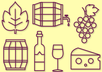 Free Wine Vector - Kostenloses vector #404279