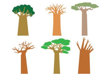 Baobab Vector - vector #404829 gratis