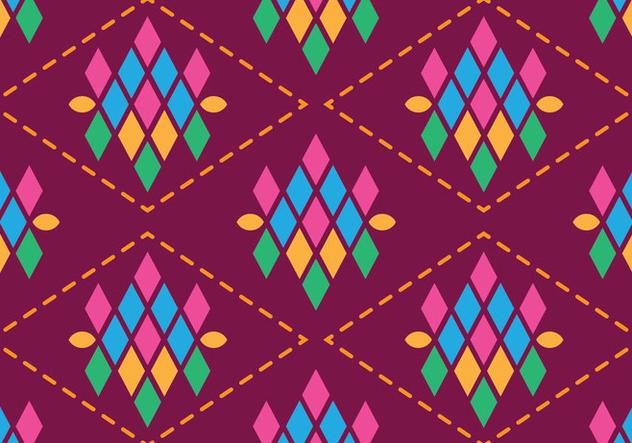Traditional Songket - бесплатный vector #405249