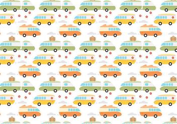 Free Hippie Bus Vector - Free vector #405559