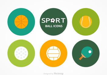 Free Sport Balls Vector Set - Free vector #405709