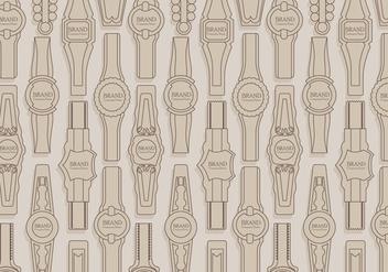 Cigar Label Pattern Vector - Free vector #406259