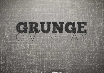 Vector Grunge Overlay Background - Kostenloses vector #406629