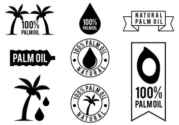 Free Palm Oil Vector - Kostenloses vector #406729