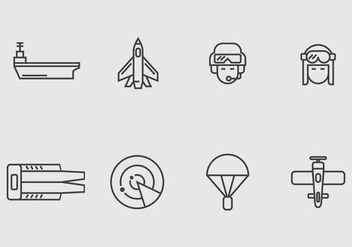 Aircraft Carrier Icon - Free vector #406849