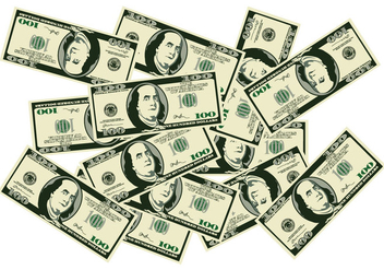 A Pile of Money - Free vector #408119