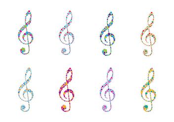 Violin Key Logo Vector - Kostenloses vector #408139