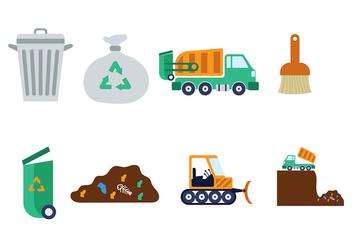 Landfill Vector - Kostenloses vector #408349