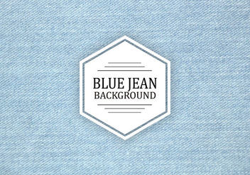 Light Blue Jean Vector Texture - Free vector #408599