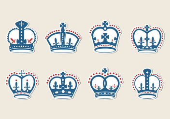 Free British Crown Vector - vector gratuit #408619