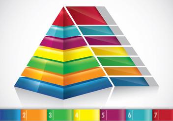 Piramide Infographic Concept - Free vector #408959