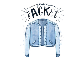 Free Blue Jean Jacket - Free vector #409009