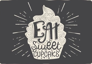 Free Vector Tasty Cupcake - Free vector #409469