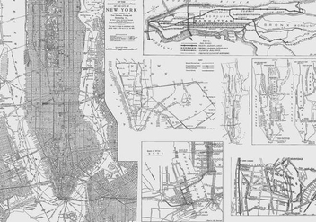 New York Maps - vector gratuit #409529