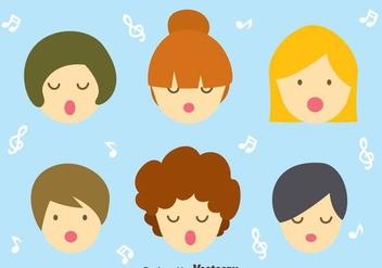 Children Choir Vector - Free vector #409569