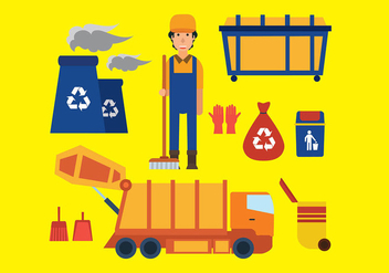 Landfill Icon Free Vector - бесплатный vector #410129
