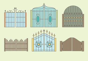 Free Gates Vector - бесплатный vector #410169