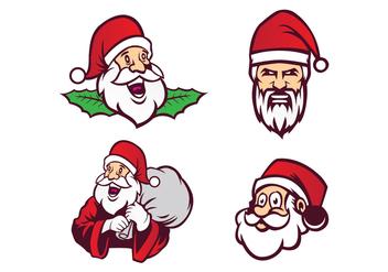 Free Santa Claus Vector - vector gratuit #410479