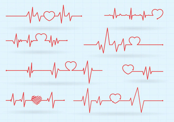 Free Heart Rate Vector - Free vector #410579