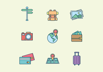 Free Travel and Tourism Vector - Kostenloses vector #412089