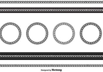 Greek Key Vector - бесплатный vector #412509
