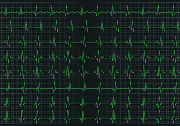 Heart pulse graphic - Free vector #412809