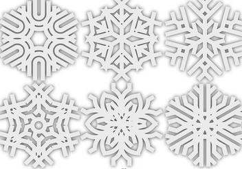 Vector Snowflakes Icon - Kostenloses vector #413269