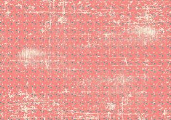 Grunge Polka Dot Background - vector gratuit #413349