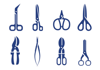 Scissors vector - бесплатный vector #413439