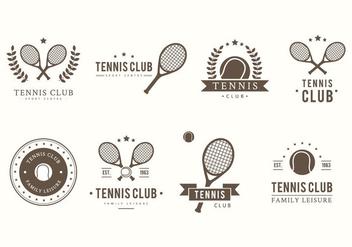 Free Tennis Vector - Kostenloses vector #413449