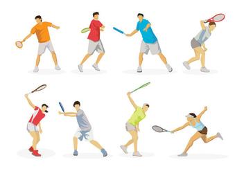 Free Tennis Vector - Kostenloses vector #413559