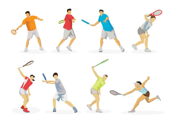 Free Tennis Vector - Free vector #413559