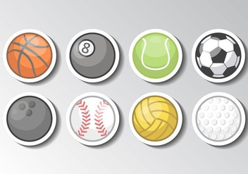 Free Sports Ball Vector - vector gratuit #413569