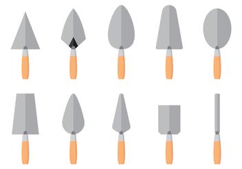 Masonry Tools - Free vector #413689