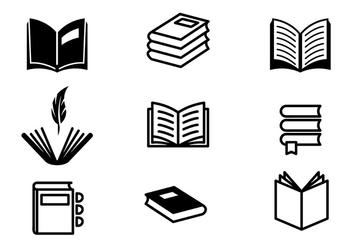 Poem and Book Vectors - Free vector #413919