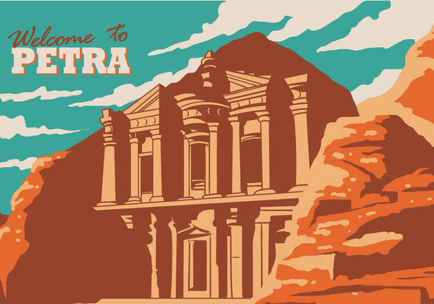 Petra Historical Site - Free vector #414259