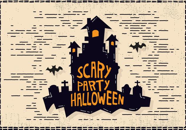 Halloween Castle Illustration - Kostenloses vector #414459