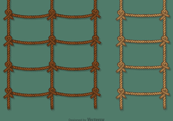 Free Rope Ladder Vector Set - vector gratuit #414509