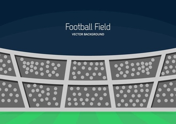 Football Ground Background - Kostenloses vector #414529