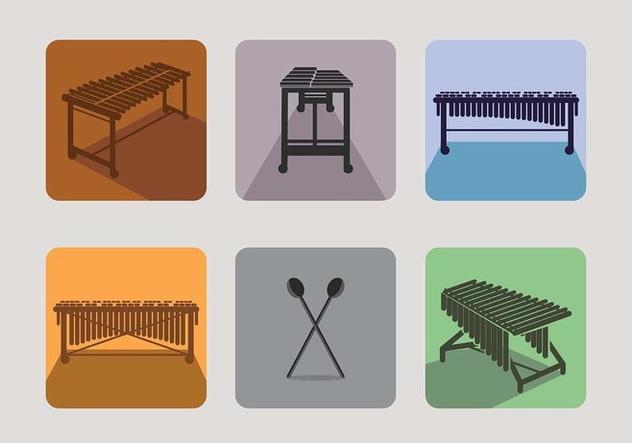 Marimba Icon Vector Free - vector #414869 gratis