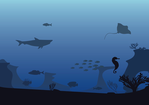 Free Seabed Illustration - Free vector #414879