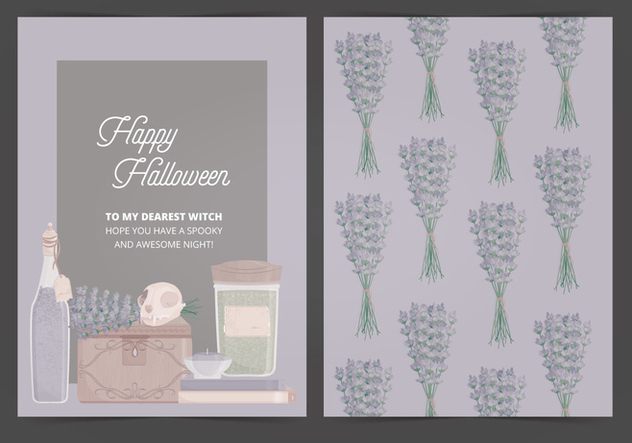Vector Halloween Card - vector #414959 gratis