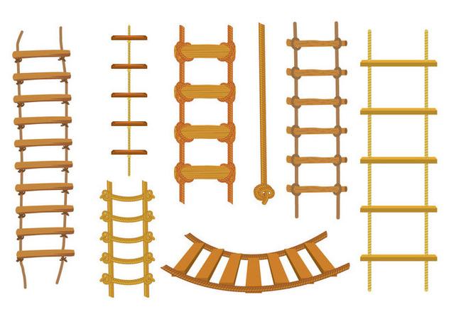 Free Rope Ladder Vector - vector #415009 gratis