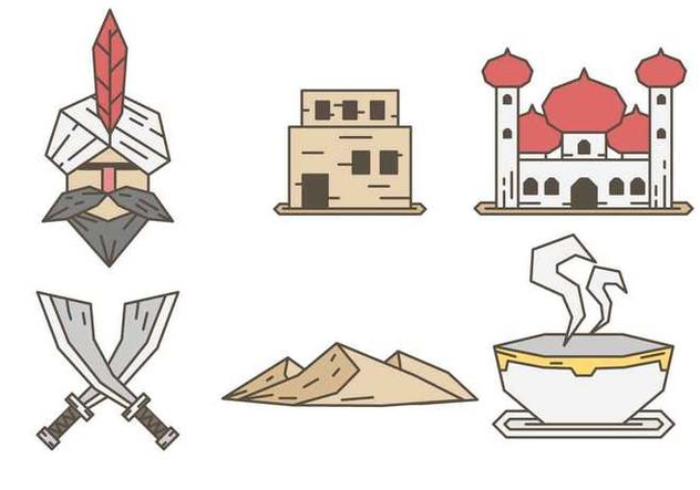 Free Arabia Vector - vector #415019 gratis