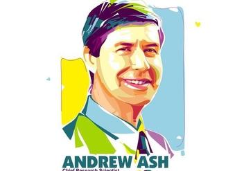 Andrew Ash - Scientist Life - Popart Portrait - бесплатный vector #415129