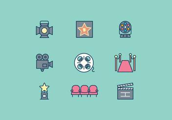 Free Hollywood Icon - бесплатный vector #415169