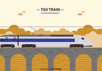Free Tgv Train Background - Free vector #415369