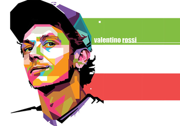 Valentino Rossi - Sport Life - WPAP - Free vector #415419