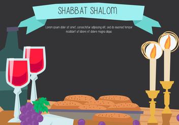 Shabbat Shalom - Kostenloses vector #415489