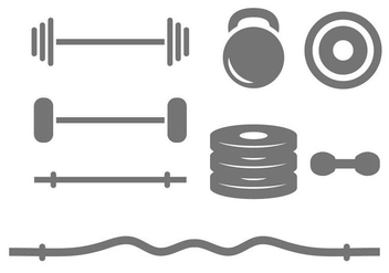 Free Dumbell Vector - Free vector #415569